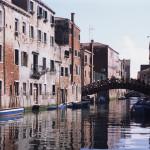 Bridge Over a Venetian Canal