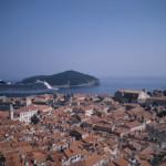 Cruise Ship in Dubrovnik
