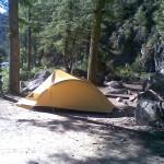 Night's Camp Along Highway 93 Idaho