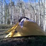 Night's Camp Near Alta Lake