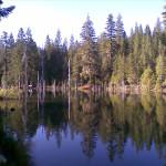 Night's Camp at Spalding Pond Oregon