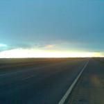 Twilight on the Open Road
