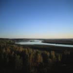 River Running Through Siberia