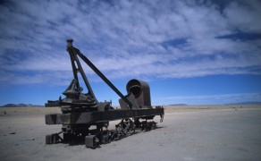 End of the Track in Uyuni