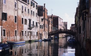 Bridge Over a Venetian Canal