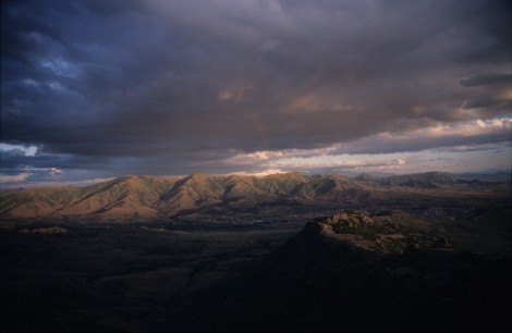 Sunset View from Treskavec Monastery