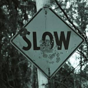 Road Sign in Skagway