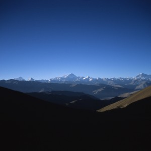 Mount Everest on the Horizon