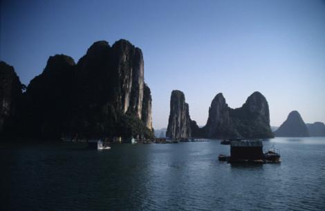 Boats in Harlong Bay