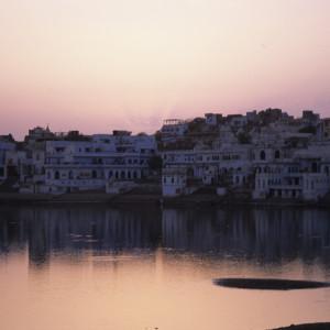 Pushkar at Sunset