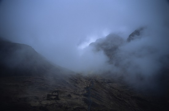 In the Clouds on the El Chorro Inca Trail