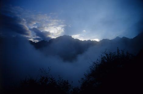 Predawn at Machu Picchu