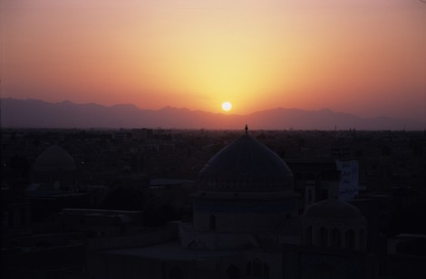 Sunset Over Yazd
