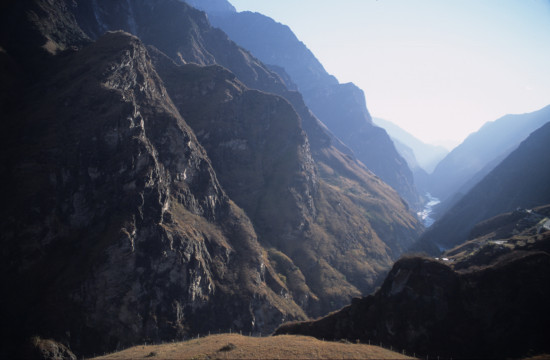 Light & Shade on Tiger Leaping Gorge