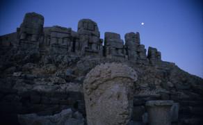 Fallen Godhead at Mount Nemrut