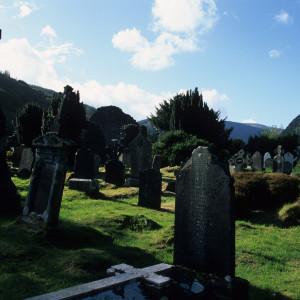 Graveyard on Glendalough Hike