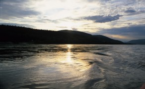 Sunset on the Inside Passage