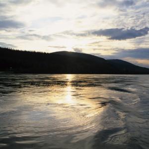 Sunset on the Inside Passage