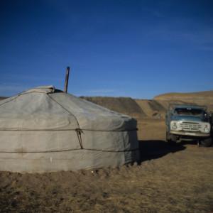 Mongolian Trucker's Stop