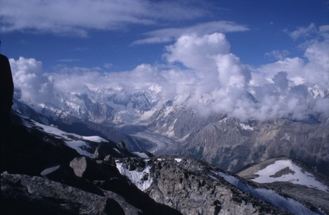 Summit View on Rush Phari Trek