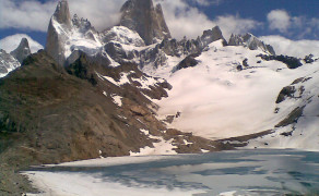 Foot of the Fitz Roy Mountains
