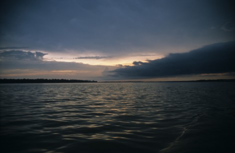 Travelling on the Rio Amazonas