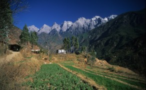 Farming on Tiger Leaping Gorge