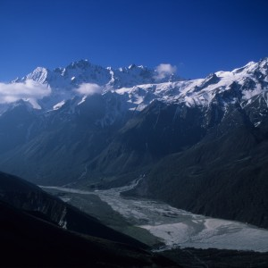 Looking Down on Langtang Valley