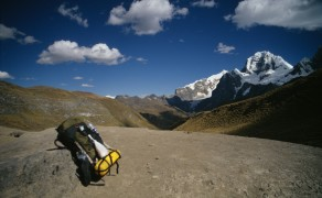 Taking a Load Off in the Cordillera Huayhuash