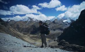 High Pass in the Cordillera Huayhuash