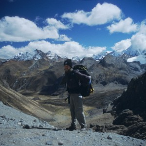 High Pass in the Cordillera Huayhuash
