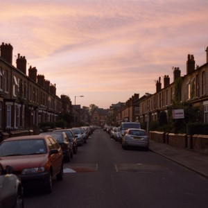 Davenport Avenue at Sunset