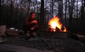 Night's Camp in Pisgah