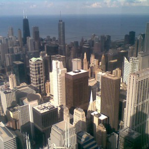 Looking Down From Sears Tower