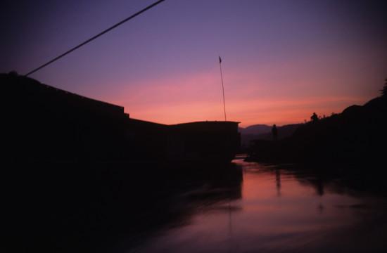 Sunset at Muang Ngoi