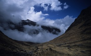 Start of El Chorro Inca Trail