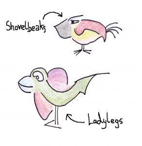 Shovelbeaks & Ladylegs