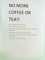 No More Tea and Coffee (2)