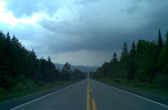 To a Remote Border Crossing into Maine