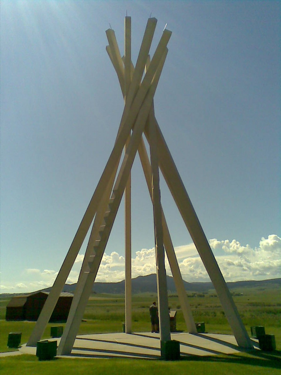Teepee Rest Areas in South Dakota