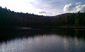 Night's camp at Posey Lake Utah