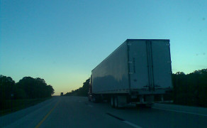 Magic Hour on the Open Road