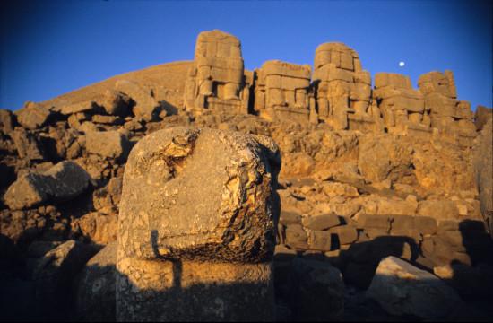 Eagle Head at Mount Nemrut