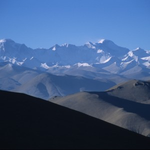 Tibetan View of the Himalayas