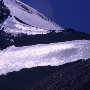 Ice Capped Fan Mountains
