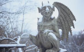 Gargoyle in Vilnius